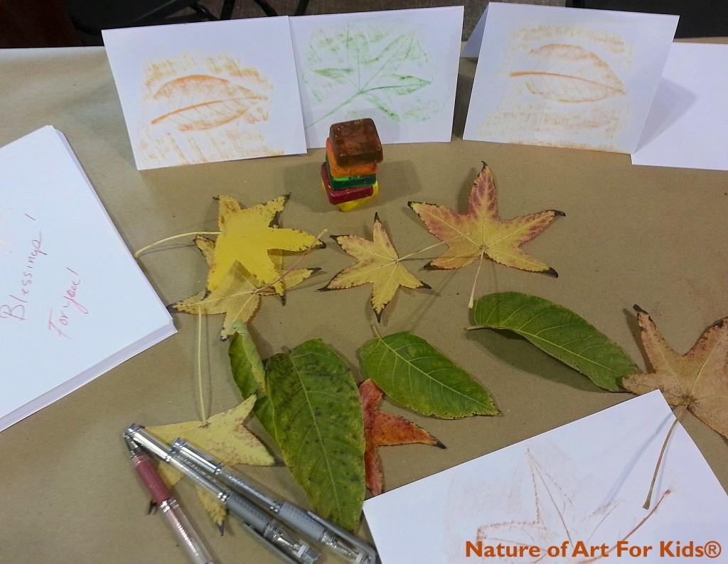 Fall Crayon Leaf Rubbing Project Spramani Elaun