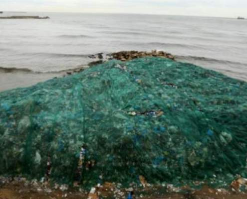 Build Up of Plastic in Ocean Waters