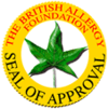 British Allergy Foundation Seal of Approval logo