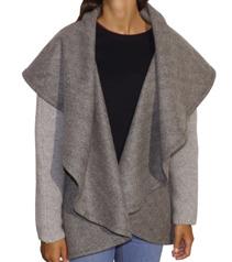 Nómada Knitted Sleeve Cloak