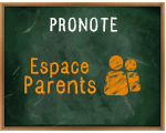 PRONOTE-EspaceParents