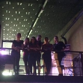 The team Ecole de Luca