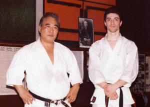 Taiji Kasé sensei et Frédéric Méjias