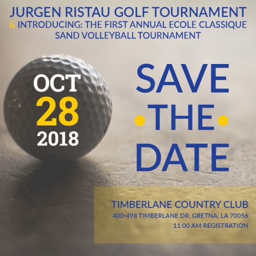 save the date golf and volleyball tournament