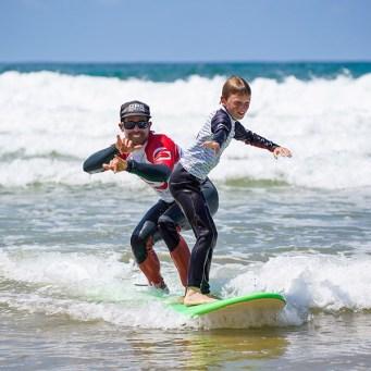 Ecole de surf tandem