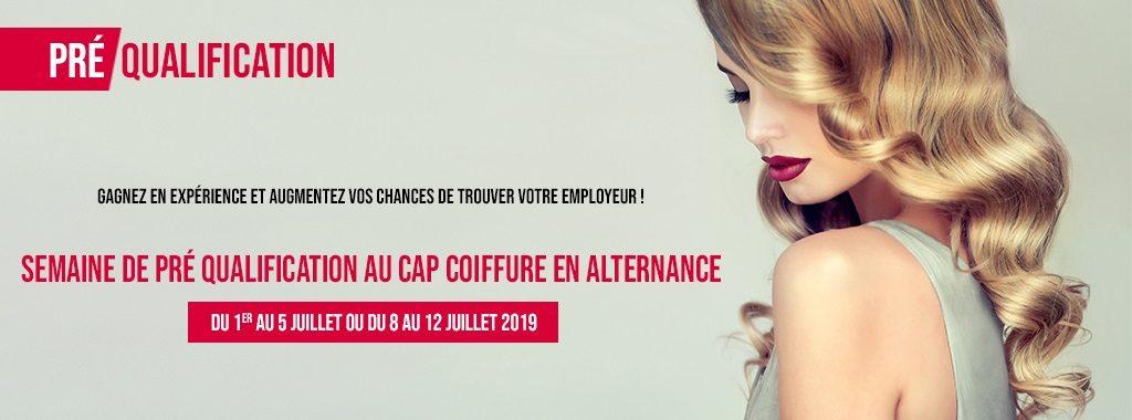 Préqualification CAP coiffure alternance