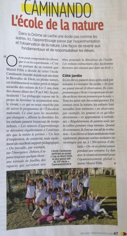 Dans la Drôme se cache une école pas comme les autres. Ici, l'apprentissage passe par l'expérimentation et l'observation de la nature…