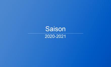 EPR: horaires 2020 – 2021