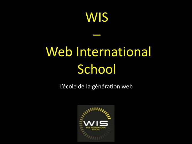 WIS et le Bachelor Conception et Management des activités Web