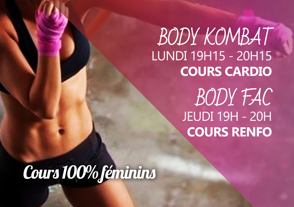 Cours de remise en forme fitness femmes Bousse