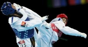 Le taekwondo en compétition