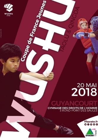 Coupe de France Jeunes Wushu Taolu Qingda 2018