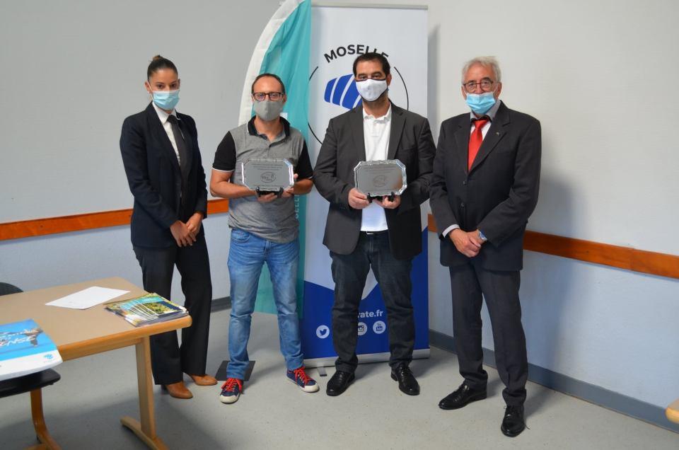 Récompense Jeunesse et Sport Benoit et Anthony AG cdk57 2020