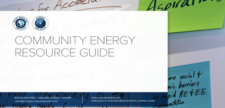Community Energy Resource Guide graphic