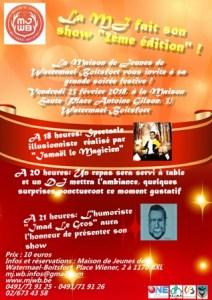 La Maison des Jeunes fait son show - 2ème édition! @ Maison Haute   Watermael-Boitsfort   Bruxelles   Belgique