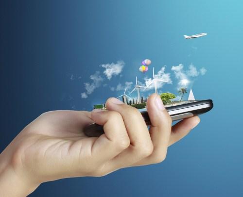 Aplicaciones ecológicas para móviles