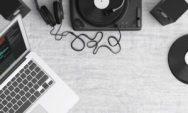 laptop and dj tools