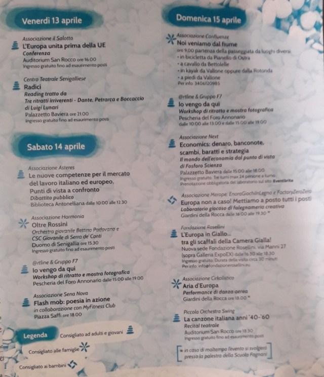 calendario degli appuntamenti festa appartenenza