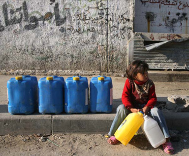 water scarcity in palestine