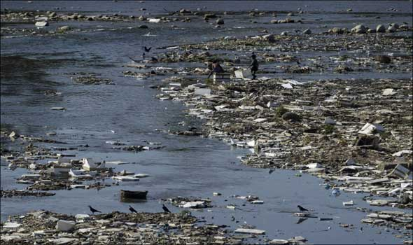 water polluting of the environment in egypt