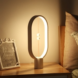Heng Balance LED Lamp Night Light with USB Power Home Decor Office Bedroom Bedside Table Lamp Light Gift for Children