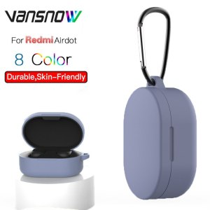 1 Pcs For Redmi Airdots Silicone Protect for Redmi Airdots Case with Hook Earphone Accessorie