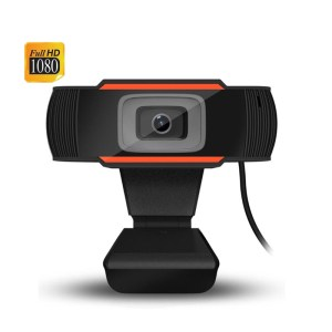 Webcam 1080P Full HD Calling Recording Vieo Camera with Mic for PC Computer Laptop USB Web Cam Build In Microphone Web Cam