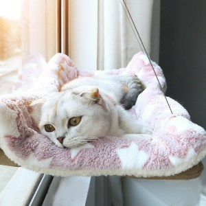 Window Mount Pet Cat Hammock Comfortable Cat Pet Bed Mat Cute Pet Hanging Beds Set Bearing 20kg