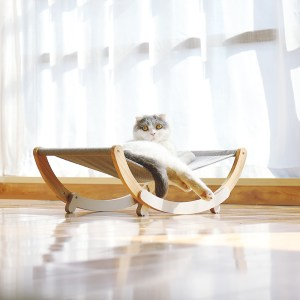 Cat Hammock Solid Wood Cat Shaker