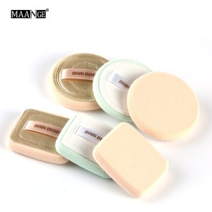 2Pcs Powder Foundation Makeup Sponge Cosmetics Puff Soft Face Ribbon Soft Make Up Beauty Facial Make Up Tool Kit