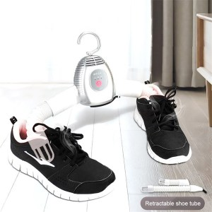 Electric Clothes Drying Portable Dryer Hanger Folding Smart Timing Shoe Dryer