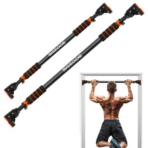 SGODDE Pull Up Bar Horizontal Bar Portable Multifunctional Indoor Wall Mounted Non-Skid Safety Pullup Bar