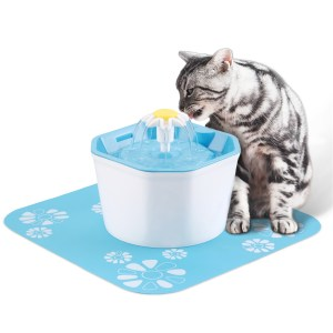 Cat Water Fountain Dog Drinking Bowl Pet USB Automatic Water Dispenser Super Quiet Drinker for Auto Feeder