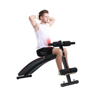 KALOAD 250KG Bearing Home Sit Up Sit-ip Bench Foldable Fitness Board Dumbell Bench Abdominal Exerciser