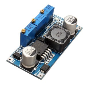 DC7V-35V to DC1.25V-30V LED Driver Charging Constant Current Voltage Step Down Buck Power Supply Module