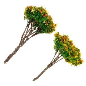 Mini Resin Trees Micro Landscape Decor Garden DIY Decoration