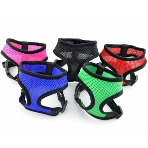 Pet Products Soft Mesh Padded Dog Harness Pet Puppy Vest Dog Cat Chihuahua Collar Belt Harness Adjustable Safety