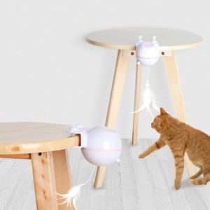 USB Electric Pet Cat Toy LED Irregular Laser Funny Cat Stick Home Pets Funny Pet Toys with Replacebale Feather