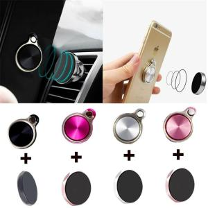 3 in 1 Finger Ring Holder & Magnet Car Holder Phone Holder universal Finger Ring Holder Mobile Phone Stand for iPhone 6 6plus 7