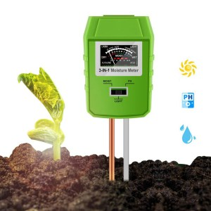 3 IN 1 Digital Soil Moisture Sunlight PH Meter Tester for Plants Flowers Acidity Moisture Measurement Garden Tools