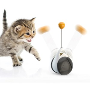 Irregular Cat Toy Rotating Ball Self-Balance Wheel Pet Toy Cute Interactive Toys Funny Kitty Toys Pet Supply