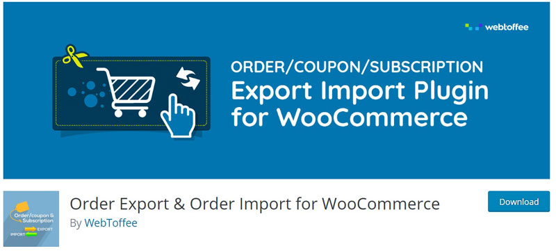 Order Import & Export for WooCommerce