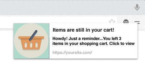 How to Stimulate E-Commerce Conversion with different Push Notifications Marketing Channels
