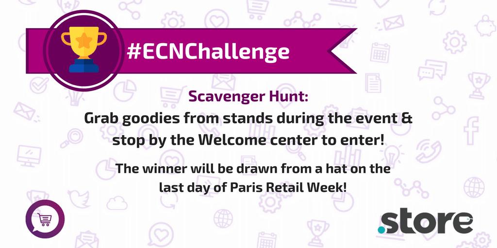 #ECNChallenge Paris Retail Week 2017