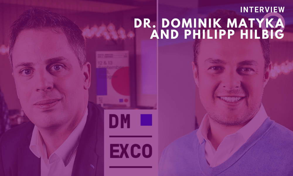 DMEXCO – interview with Dr. Dominik Matyka and Philipp Hilbig