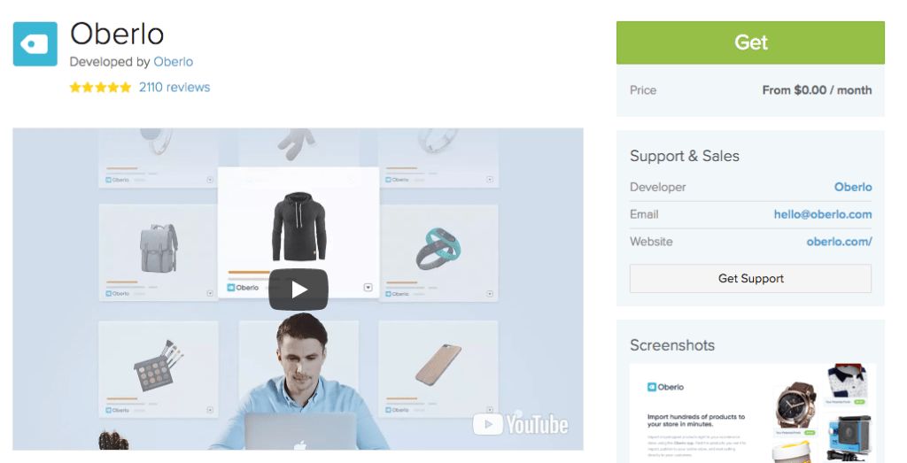 Oberlo for Shopify