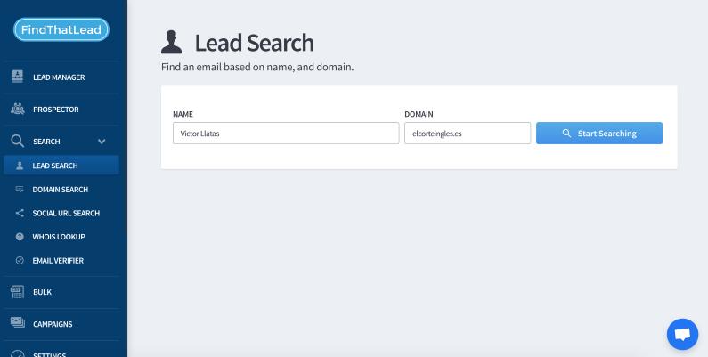 search person