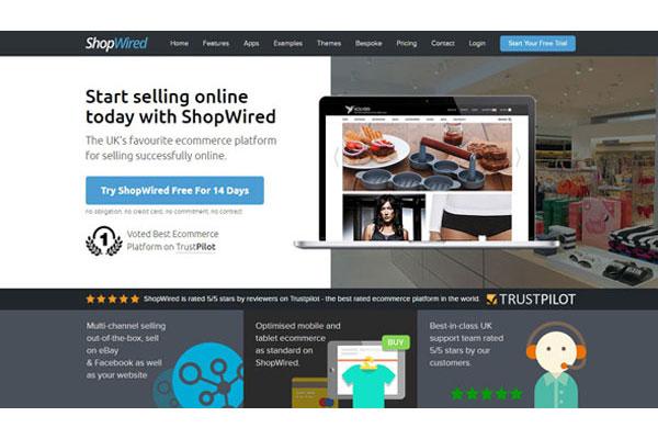 ShopWired Homepage