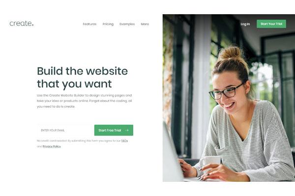 create.net homepage