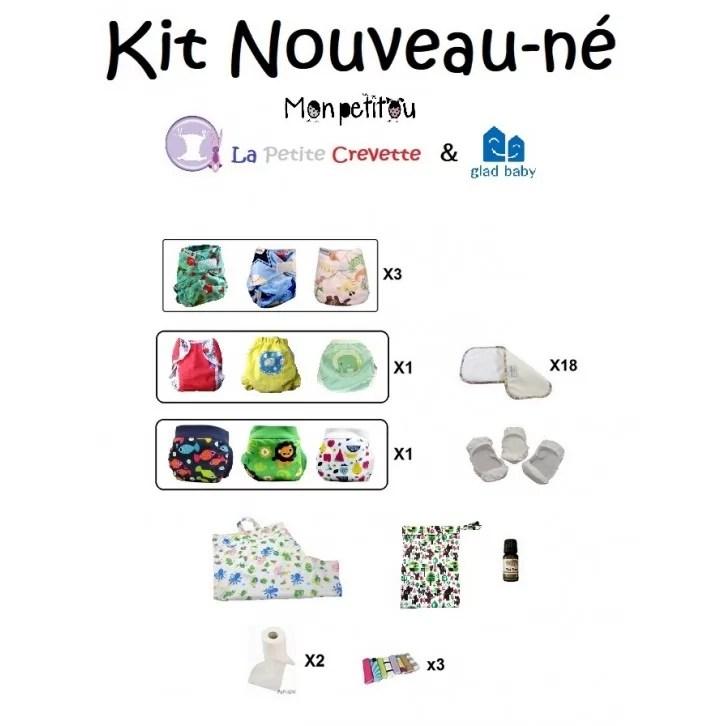 Kit Nouveau N 249 15 Couches Lavables Accessoires